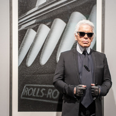 Lagerfeld made his name as a fashion designer but is also an accomplished photographer