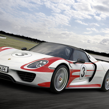 Porsche has made last minute improvements to the 918's electrical system to boost its speed