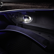 The S-Class will be available with four changeable fragrances
