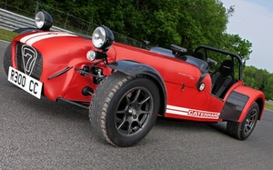 Caterham launches the R300 Race Car in Europe