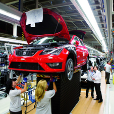 All of the cars are built at Seat's Martorell factory