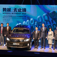 Shanghai built its 10 millionth car in China in November