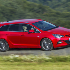 Opel Astra Sports Tourer BiTurbo CDTI