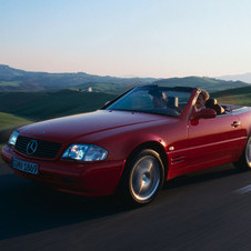 Mercedes-Benz SL 280 6V AT