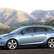 Opel Astra Sports Tourer 1.6 Turbo Cosmo Active Select