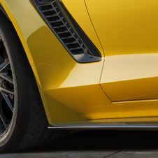 This is the only image of the Z06 that Chevrolet released