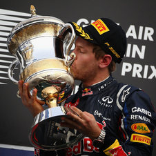 Vettel is back to victories