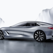 With the new concept Infiniti decided to debut a new hybrid powertrain