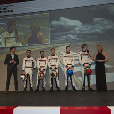 Porsche's factory driving squad for 2014 numbers over 20 drivers