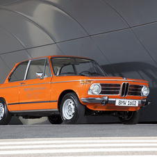 BMW's first electric car was a modified 1602 for the Munich Olympics