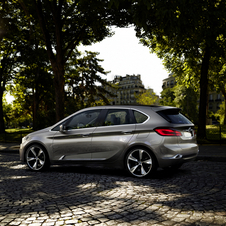 The Active Sports Tourer is meant as the future for front-wheel drive BMWs
