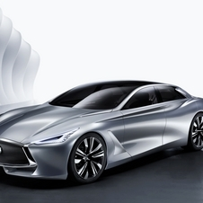 The Q80 Inspiration illustrates the new design languge from Infiniti