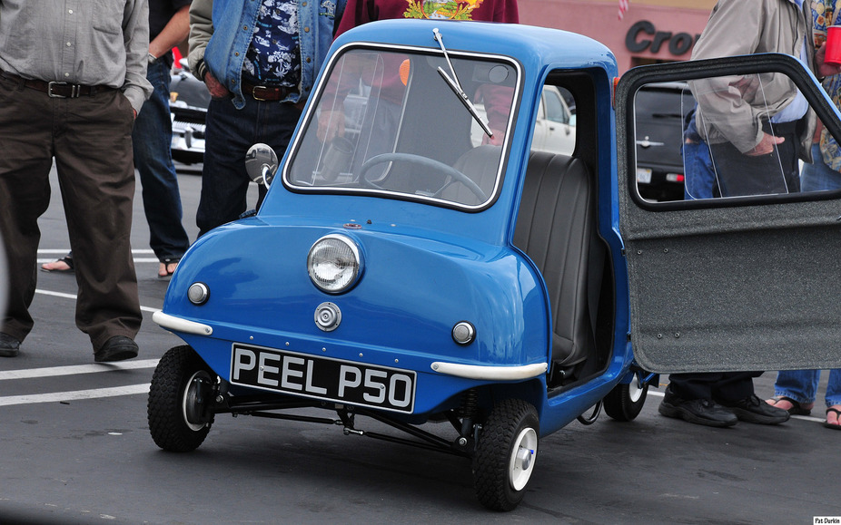 Peel P50 and Trident on their way back