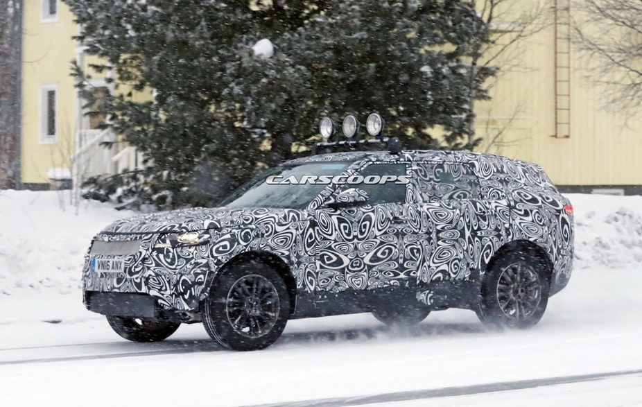 Range Rover Sport Coupe will be launched in 2018