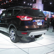 Ford Escape 2.0-liter EcoBoost I-4 AWD