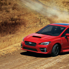 The latest WRX uses a turbocharged 2.0-liter engine with 268hp