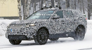 The Range Rover Sport Coupe was in Sweden testing in winter and cold weather conditions