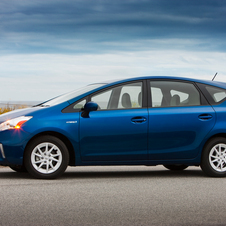 Toyota added three Prius variants in the US in the last year