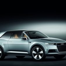 The Cross Coupe Concept shows the future for a smaller Audi Q2
