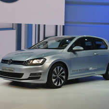 The production version of the Golf BlueMotion will be on sale from 2013