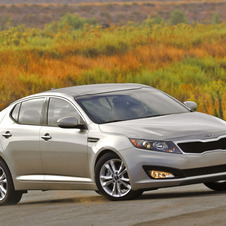 Kia Optima LX MT