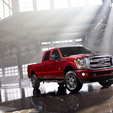 Ford F-Series Super Duty F-250 6.2 Platinum