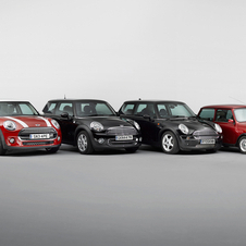 It is the third generation of the modern Mini