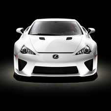 The LFA is the first time Lexus has tried to build a more sporting image