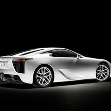 The LFA is made predominantly from carbon fiber-reinforced plastic