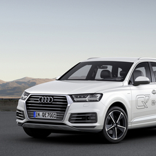 With the new Q7 e-tron Audi is debuting the new hybrid plug-in diesel-electric system