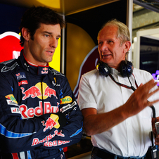 Mark Webber has spent most of his F1 career with Red Bull