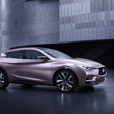 Infiniti is hinting that the Q30 will be the first car built there