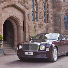 Bentley Building 60 Mulsanne Diamond Jubilee Editions