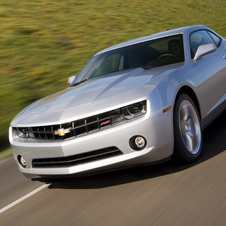 The Camaro may get the ATS' turbocharged four-cylinder