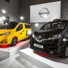 Nissan also offers the NV200 in New York and Brazil