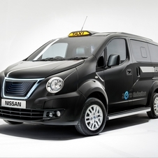 The taxi will go on sale in December 2014