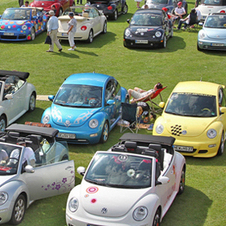 Volkswagen started the Sun Shine Tour in 2004