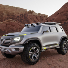 Mercedes says that the Ener-G-Foce concept indicates the future design of Mercedes SUVs