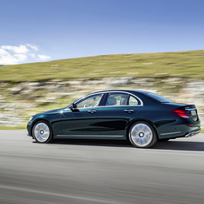 Compared to the previous generation, the new E-Class is 43mm longer, with 4923mm