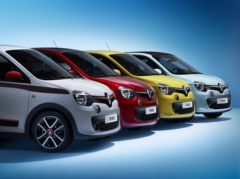 The new Twingo generation was built on a platform shared with Smart