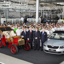 Skoda has been building cars since 1905