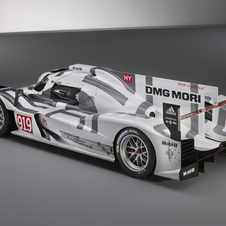 The 919 Hybrid has gone through a long process of development, including more than 2000 hours on the wind tunnel