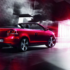 VW says it has reworked the rear diffuser and exhausts for the Cabrio