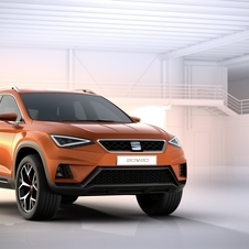 The concept previews the first SUV model from Seat, set to be unveiled at next year's Geneva Motor Show