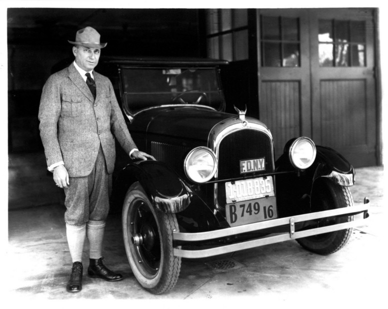 Walter P. Chrysler and the 1924 Chrysler Six