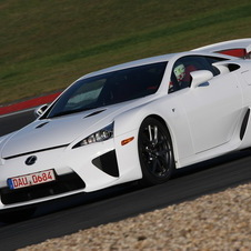 The LFA has been on sale for over a year, so it is an odd time for just a promotion