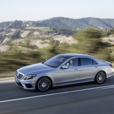 Mercedes will offer the latest S63 AMG in two wheelbase lengths