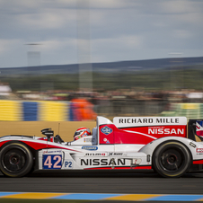 Nissan has been dominating the LMP2 class so far this season