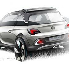 Opel Bringing Adam-Based Crossover Concept to Geneva