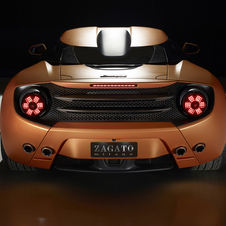 The Lamborghini 5-95 by Zagato was developed based on a Gallardo LP 570-4 and includes the same V10 engine